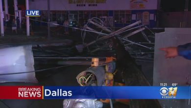 DFW Weather: Tornado Touches Down, Leaves Damage Across Dallas - CBS Dallas / Fort Worth